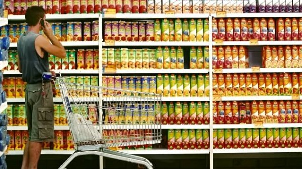 Which operation mode do supermarket shelves choose?
